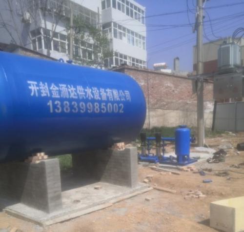 三门峡卢氏县棚户区改造工程二次增压机组